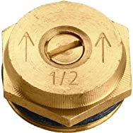 Orbit53051Brass Sprinkler Head Insert-HALF PATTERN BRASS INS
