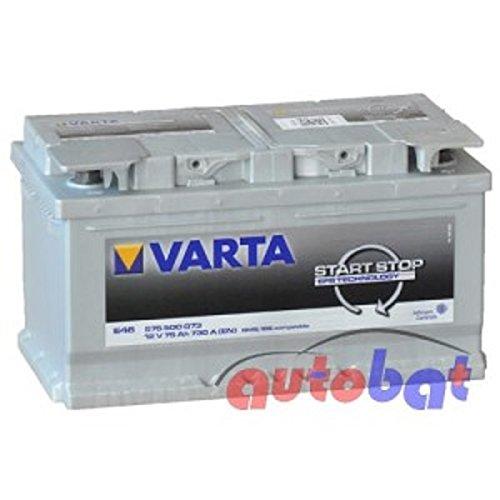 VARTA START-STOP EFB 75Ah 730A(EN) E46