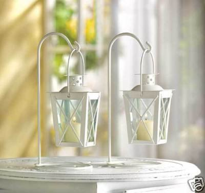 Wedding Centerpieces Sale on Here For Buy 20 White Wedding Lantern Centerpieces Favors New On Sale