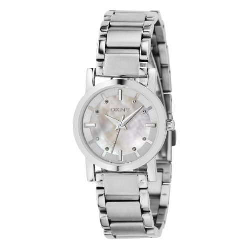 DKNY NY4519 Ladies Stainless Steel Bracelet White Dial Watch