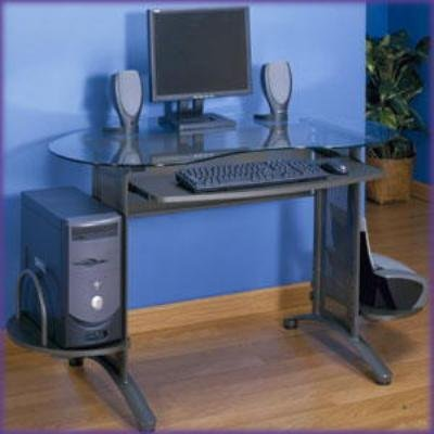"Ellipse Computer Desk (Cherry) (57.5""l x 28.75""w x 30""h)"