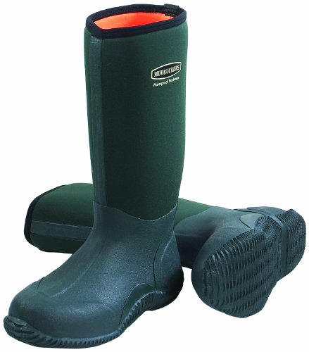 Just Togs Mudrucker Tall Boot Neoprene Waterproof Welly - Black, 8 UK