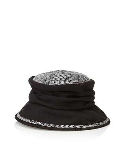 Giovannio Women's Sun Cloche, Black