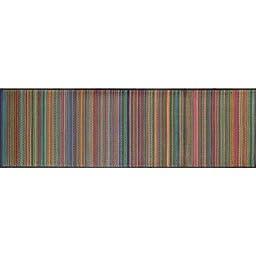 Indoor Outdoor Rug Runner - 2.5\' X 8\' - Mixed-Rainbow