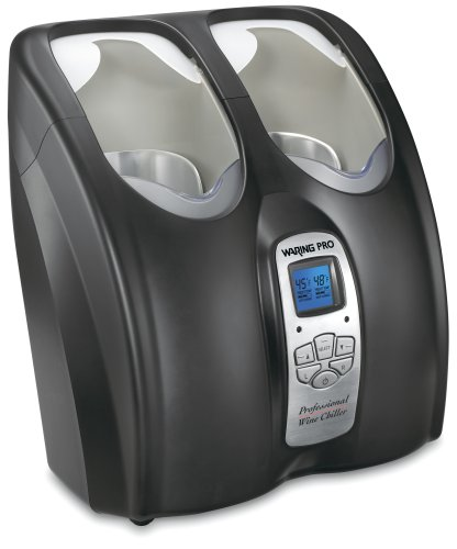 Waring Pro PC200 Double Wine Chiller, Black (Pasta For Cpu compare prices)
