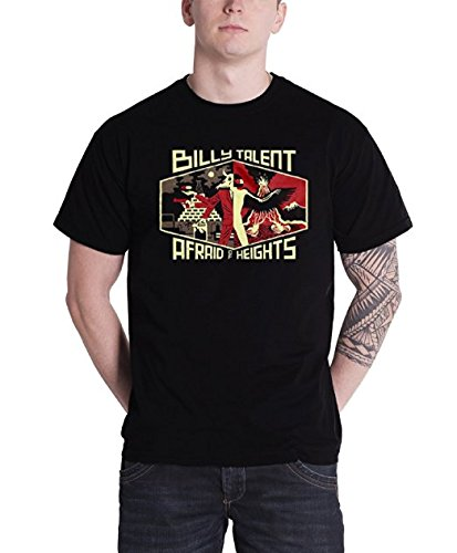 Plastic Head Billy Talent Afraid of Heights Tsfb, T-Shirt Uomo, Nero, Small