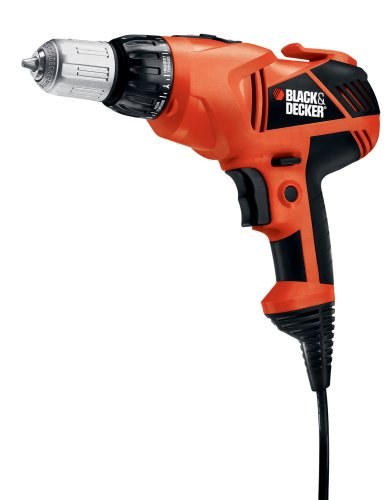 Black & Decker DR330B 3/8-Inch VSR Clutch Drill/Driver with Storage Bag