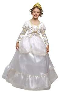 Corolle - Disfraz de reina de las nieves con falda y diadema para niña (de 8/10 años)