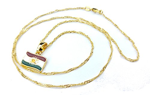 kurdistan-mini-gold-plated-necklace-with-kurdistan-flag