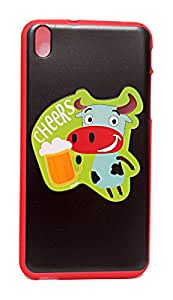 ECellStreet Exclsuive Soft Back Case Cover Back Cover For HTC Desire 816