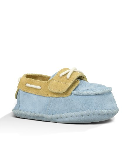 Kids UGG Australia Infant Zach Blue/Sand Size 2-3