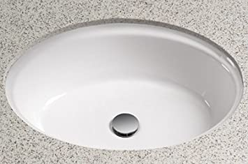 Waza Barocco Undercounter Bathroom Sink Sink Finish: Colonial White
