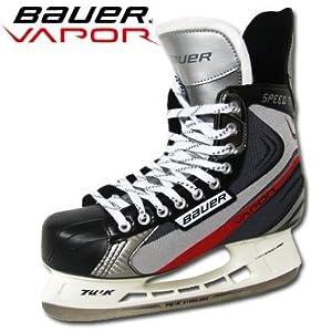 BAUER SPEED TI Ice Hockey Skates New 2012 Edition size uk5.5 + FREE SKATE GUARDS
