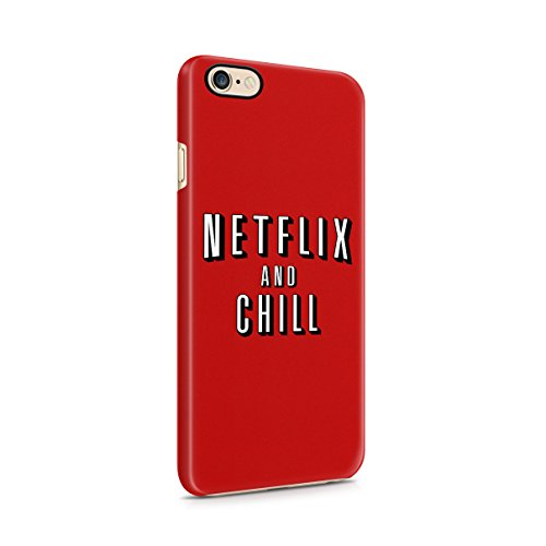 netflix-and-chill-hard-plastic-case-cover-for-iphone-6-iphone-6s
