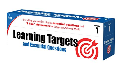 Learning Targets and Essential Questions, Grade 1 (Standard Targets compare prices)
