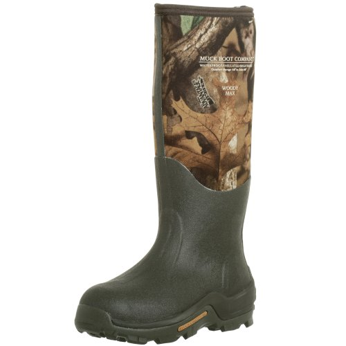 The Original MuckBoots Unisex Woody Max Boot,Mossy Oak Break-Up Camo,Men
