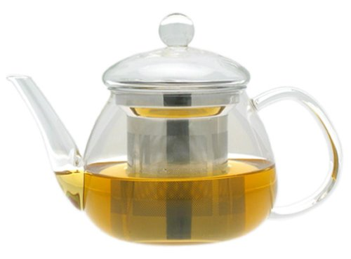 Adagio Teas 17 oz. Petit Glass Teapot & Infuser