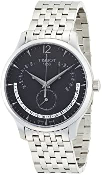 Tissot T-Classic Anthracite Dial Mens Watch