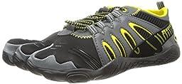 Body Glove Men\'s 3T Warrior Water Shoe,Black/Yellow,10 M US