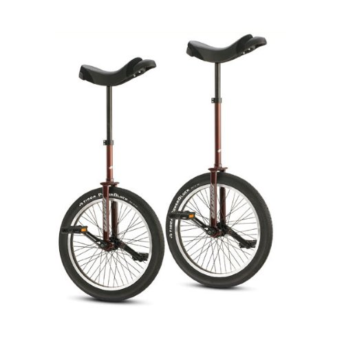 Torker Unistar LX Pro Unicycle - Tall, Merlot