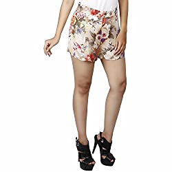 LALANA Multicolor Printed Women Casual Shorts