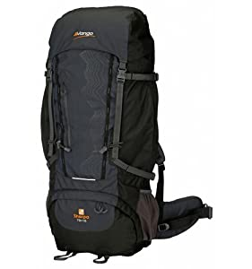 Vango Sherpa 70+10L Rucksack - Black - for 2014 from Vango