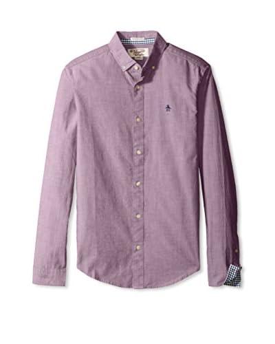 Original Penguin Men's Core Oxford Long Sleeve Shirt