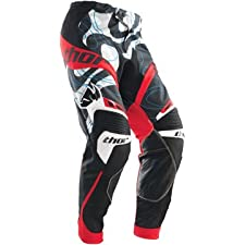 THOR CORE MOD MX MOTOCROSS DIRT PANTS RED 36