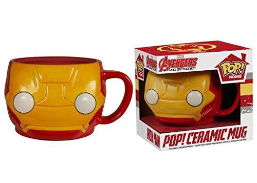 Funko - Mug Marvel - Avengers Iron Man 3D - 0849803057459
