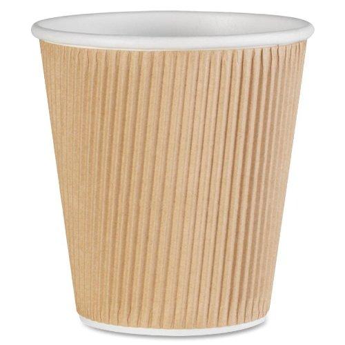 Genuine Joe GJO11256PK Insulated Ripple Hot Cup, 10-Ounce Capacity (Pack of 25)