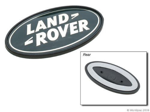 Oes Genuine Land Rover Range Rover Rear Emblem - Gold On Green front-390375