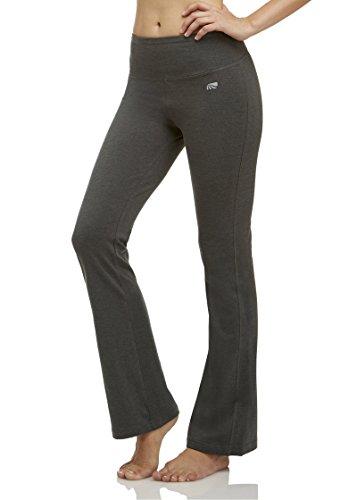Marika Women's Tummy Control Pant, Heather Charcoal, Large