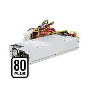 Dynapower TC-1U40P80 1U 400W Active PFC EPS 12V Low Noise 80 Plus Certified Server Power Supply