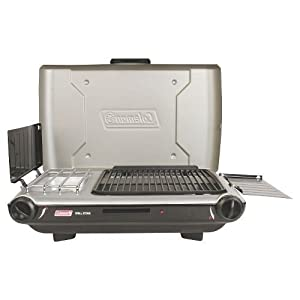 NEW Coleman Outdoor Grill and Stove - Silver/blk