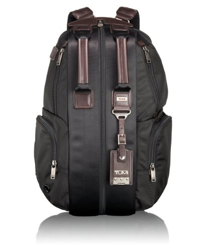 Tumi Luggage Alpha Bravo Travis Backpack, Hickory, One Size