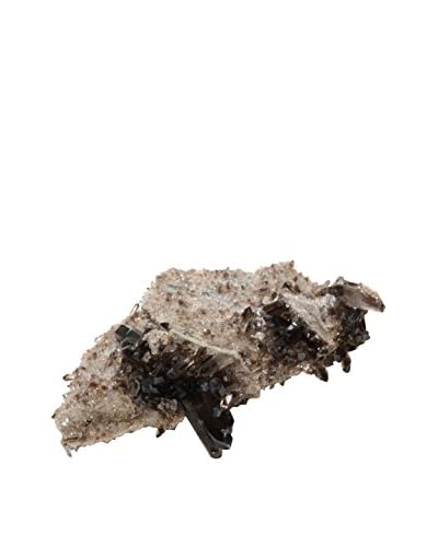 Uptown Down American Smokey Quartz Crystal Cluster, Black