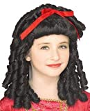 Storybook Black Wig Child Costume Accessory