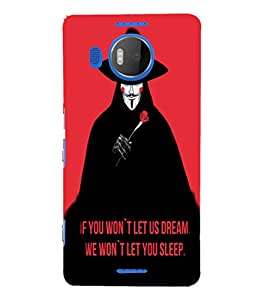 EPICCASE Dream in Sleep Mobile Back Case Cover For Microsoft Lumia 950 XL (Designer Case)
