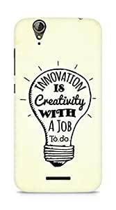 Amez Innovation is Creativity with a Job to do Back Cover For Acer Z630S