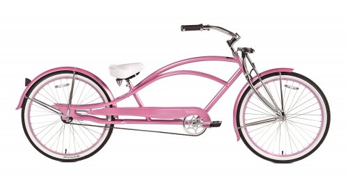 Chubby's Custom Pink Stretch Cruiser