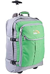 Cabin Hand Luggage Trolley Backpack with padded laptop compartment -Lyon+ by Cabin Max