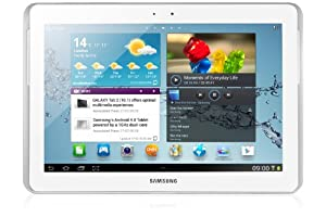 Samsung Galaxy Tab2 10.1 inch Tablet - White (16GB, WiFi, Android 4.0) by Samsung