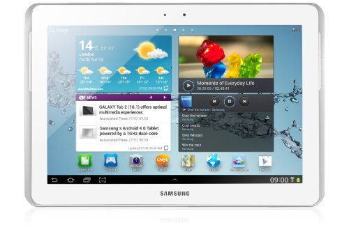 Samsung Galaxy Tab2 10.1 inch Tablet – White (16GB, WiFi, Android 4.0)