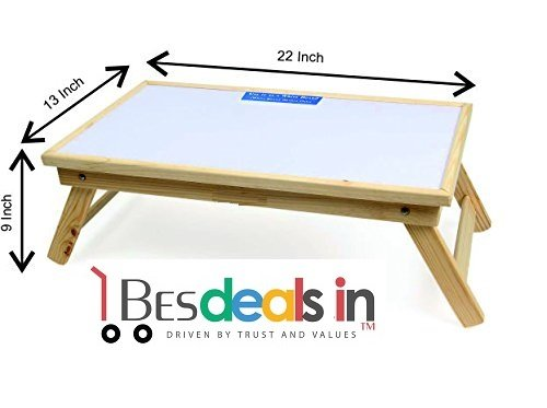 BEST DEALS - Study Table With Non Magnetic White Board Study Table With White Board In Natural Finish Multipurpose...