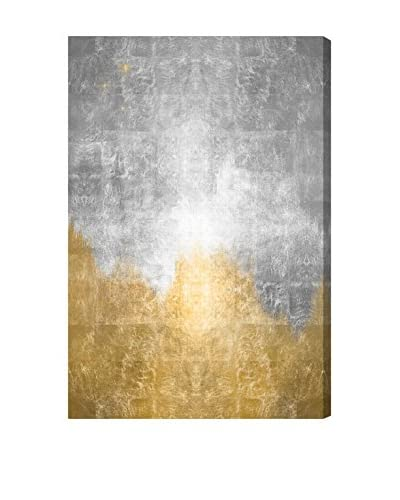 Oliver Gal 'Starry Night Silver' Canvas Art