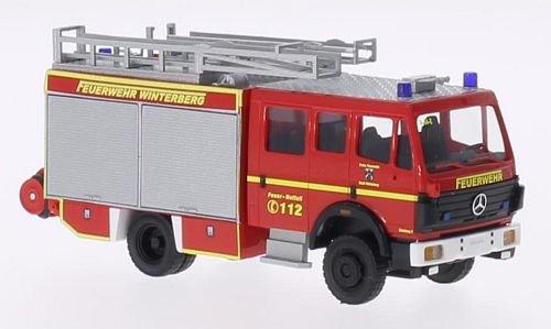 Mercedes-MK94-1224-Feuerwehr-Winterberg-Modellauto-Fertigmodell-Busch-187