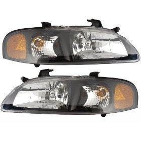 Nissan Se R Se R Spec V Model Black Housing Headlights