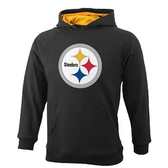 NFL Pittsburgh Steelers 8-20 Youth Sportsman Pullover Fleece Hoodie by Reebok