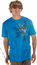 Guy Harvey Marlin and Yellowfin T-Shirt - Turquoise - XL