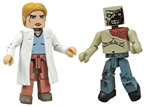 Walking Dead Minimates Series 4 Alice and Zombie (Pack of 2)